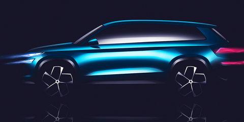 Skoda VisionS SUV concept teased, new design language promised