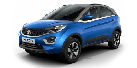 Tata Nexon revealed for Indian market
