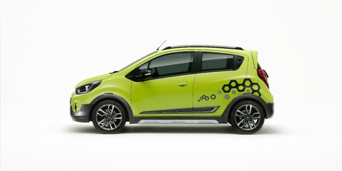 Chevrolet reveals Essentia sedan, Spark Activ crossover concept: Unlikely for Australia