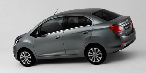 Chevrolet reveals Essentia sedan, Spark Activ crossover concept:: Unlikely for Australia