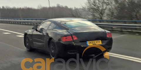 2017 Bentley Continental GT spied testing