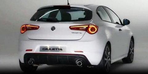 2017 Alfa Romeo Giulietta revealed through leaked images