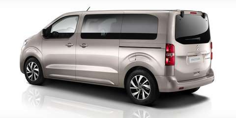Citroen SpaceTourer minibus, Hyphen 4WD concept detailed ahead of Geneva