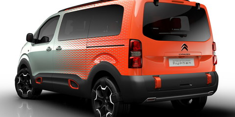 Citroen SpaceTourer minibus, Hyphen 4WD concept detailed ahead of Geneva