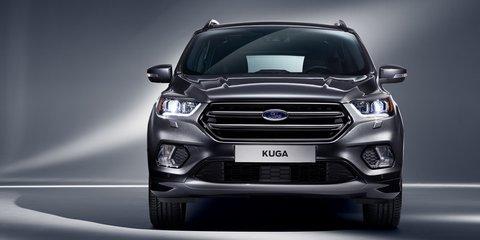 2017 Ford Kuga facelift revealed for Geneva motor show