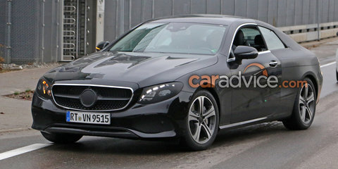 2017 Mercedes-Benz E-Class coupe spy photos - UPDATE