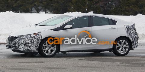 2017 Opel Ampera spied in Europe: Holden Ampera to follow in Australia?