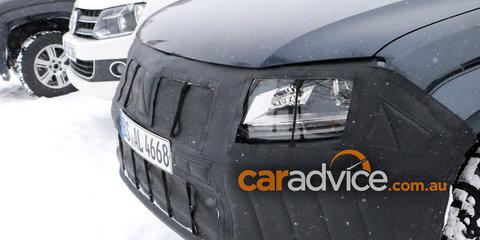 2017 Volkswagen Amarok update spied testing