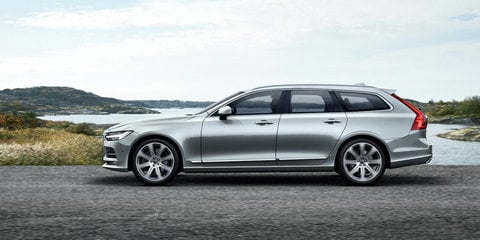 2017 Volvo V90 unveiled, Australian launch due early next year