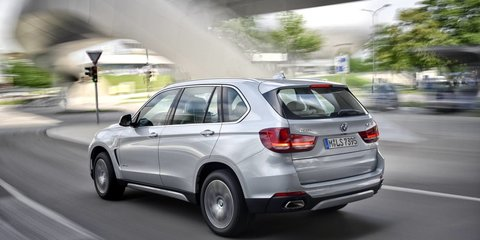 BMW eDrive plug-in hybrid X5 and 3 Series pricing announced
