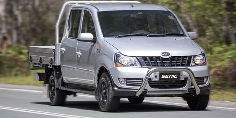 2016 Mahindra Genio now on sale in Australia