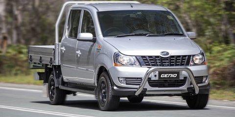 2016 Mahindra Genio now on sale in Australia