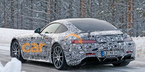 Mercedes-AMG GT: Hardcore 'GT R' spotted winter testing
