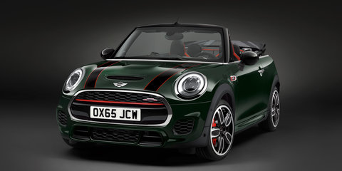 2016 Mini Convertible pricing and specifications