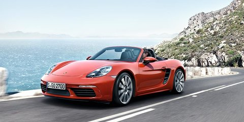 Porsche 718 Boxster design: 'We sent the Boxster to the gym'