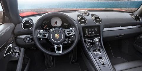 Porsche 718 Boxster cabin changes detailed