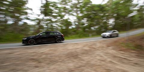 Audi RS3 v Mercedes-AMG A45 Comparison: Road Test
