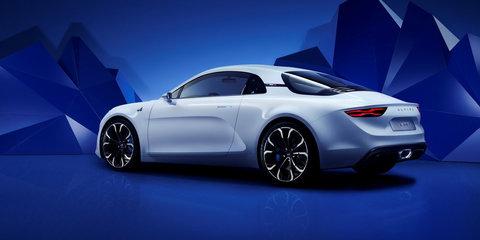 Alpine Vision concept unveiled