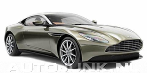 Aston Martin DB11 front end possibly revealed in new leak