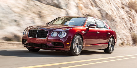 Bentley Flying Spur V8 S unveiled