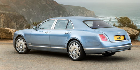 2017 Bentley Mulsanne facelift and Extended Wheelbase unveiled