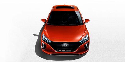 2017 Hyundai Ioniq Electric photo and details leaked