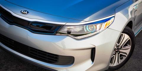 Kia Optima Plug-in Hybrid revealed in Chicago