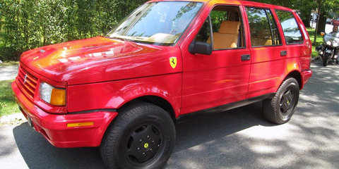 Ferrari SUV: 'You have to shoot me first', says chairman