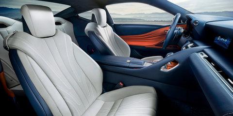 2017 Lexus LC500h revealed