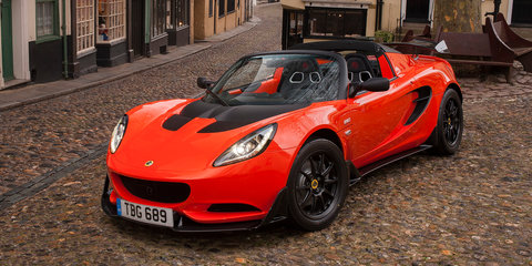 2017 Lotus Elise Cup 250 unveiled