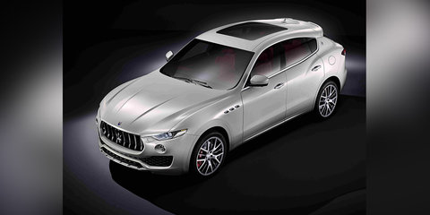 2017 Maserati Levante exterior revealed - UPDATED