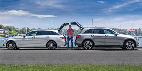 Mercedes-Benz C250d Estate v Mercedes-Benz GLC250d 4Matic Comparison