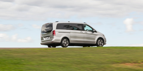 Luxury people-mover comparison: Kia Carnival v Mercedes-Benz V-Class v Volkswagen Multivan