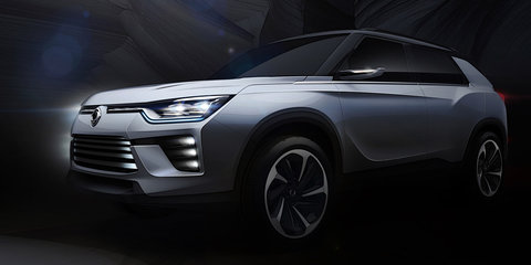 Ssangyong SIV-2 hybrid concept and Tivoli XLV to debut in Geneva