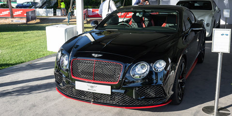 Bentley announces limited edition Continental GT Black Speed