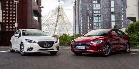 Hyundai Elantra v Mazda 3: Small Sedan Comparison