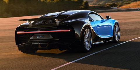 2016 Bugatti Chiron revealed ahead of Geneva debut