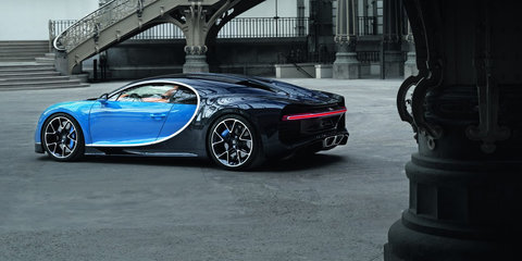 Bugatti delivers 70 Chirons in 2017