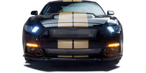 2016 Ford Shelby Mustang GT-H celebrates Hertz rental racer's 50th anniversary