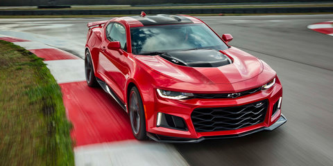 2017 Chevrolet Camaro GT4.R: track-ready terror teased in tasty-looking sketch