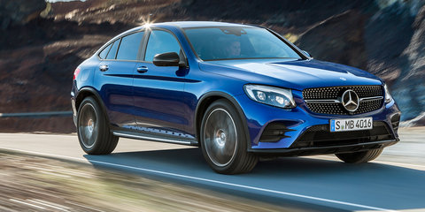Mercedes-Benz GLC convertible was under consideration in the product planning stage