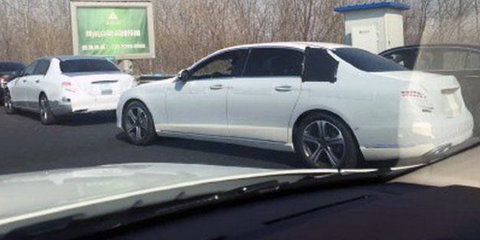 2017 Mercedes-Maybach E-Class spied in China