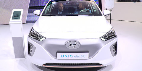 Hyundai Ioniq EV to boast 320km range from 2018