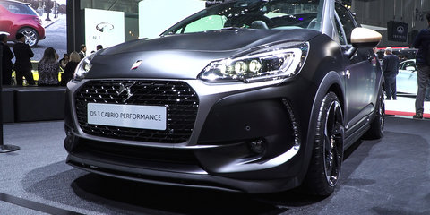 DS 3 Performance Hot Hatch :  2016 Geneva Motor Show