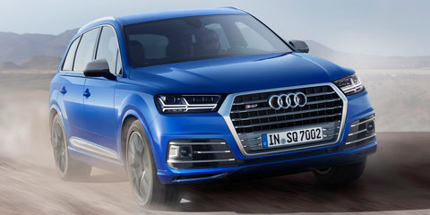Audi SQ7 debuts with world-first electric turbocharging