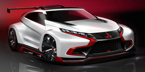 Mitsubishi's electrified performance car future becoming clearer