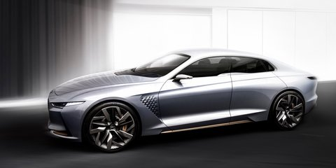 Genesis New York concept unveiled, previews upcoming G70