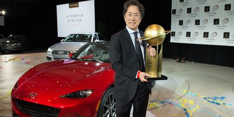 Mazda MX-5 takes unprecedented double at World Car of the Year Awards