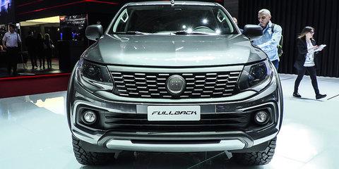 Fiat Fullback Ute : 2016 Geneva Motor Show