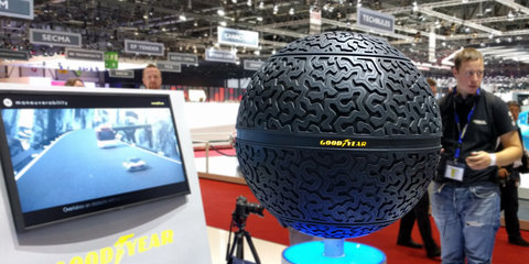 Goodyear unveils tyre concepts to get autonomous vehicles rolling